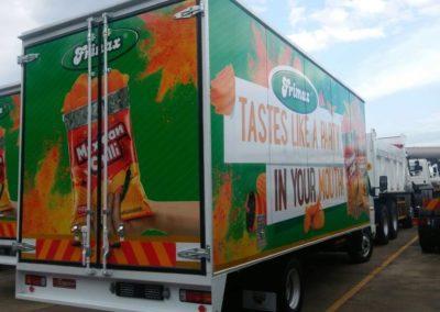 Frimax Digital Printed Truck